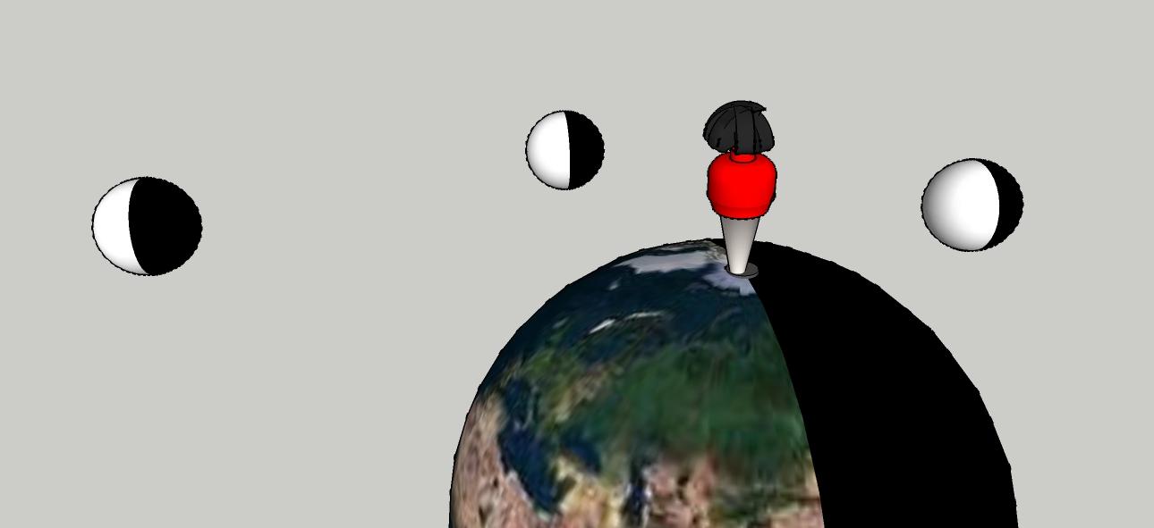 Les Phases de la Lune…