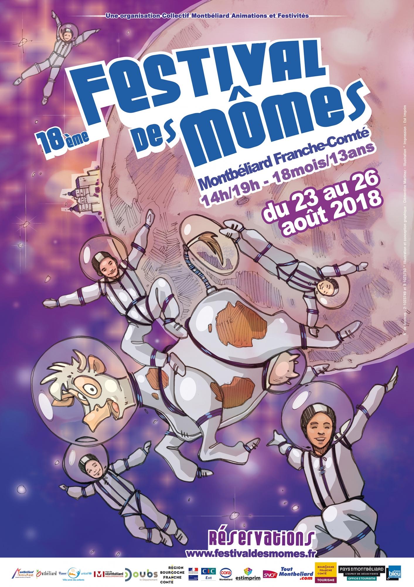 Le Domaine de l'Etoile au Festival des Momes en Aout 2018 !