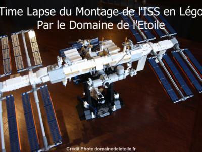 Vidéo du montage de l'ISS