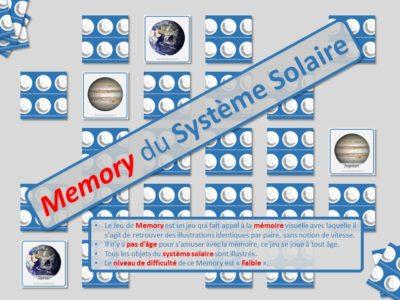 Le Memory du Système Solaire