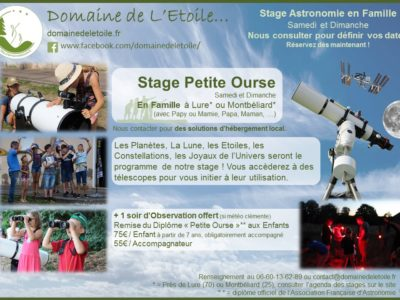Week-End Astronomie en Famille !